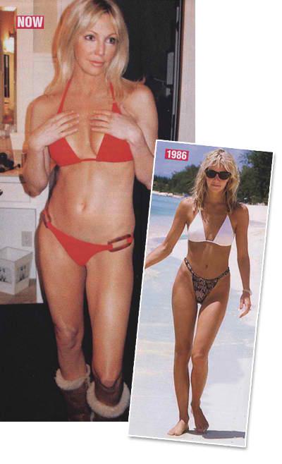 Charming bikini heather locklear nude apologise